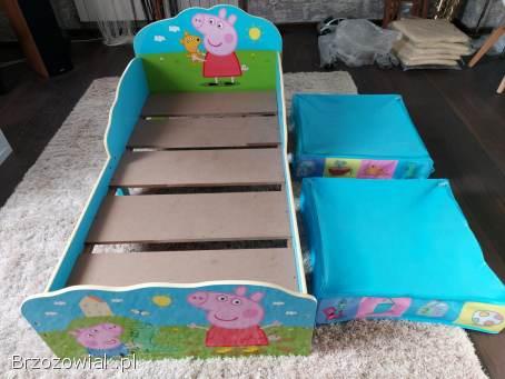 Łóżko dziecięce Peppa Pig