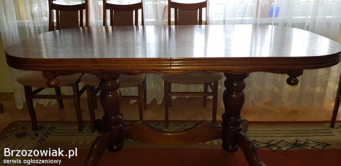 Stół pokojowy + krzesła